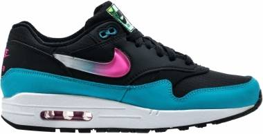 Nike Air Max 1 - Black/Laser Fuchsia/Blue Fury