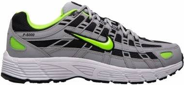 Nike P-6000 - Wolf Grey/Black/White/Electric Green