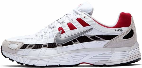 Nike P-6000 - White Particle Grey University Red