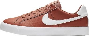 NikeCourt Royale AC - Dusty Peach/White - Gum Light Brown