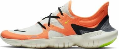 Nike Free RN 5.0 NRG - Cone/Black-pale Ivory-gunsmoke (CI0811808)