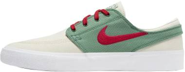 Nike SB Zoom Janoski Canvas RM - Pale Ivory/Atom Red Evergreen (AR7718102)