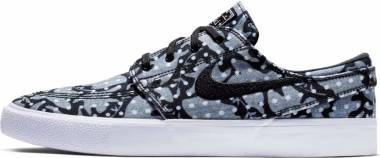 Nike SB Zoom Janoski Canvas RM - Multicolour Black White Vast Grey Gum Light Brown 000