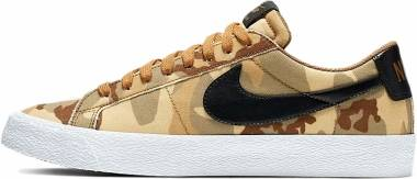 Nike SB Blazer Low Canvas - Brown (889053200)