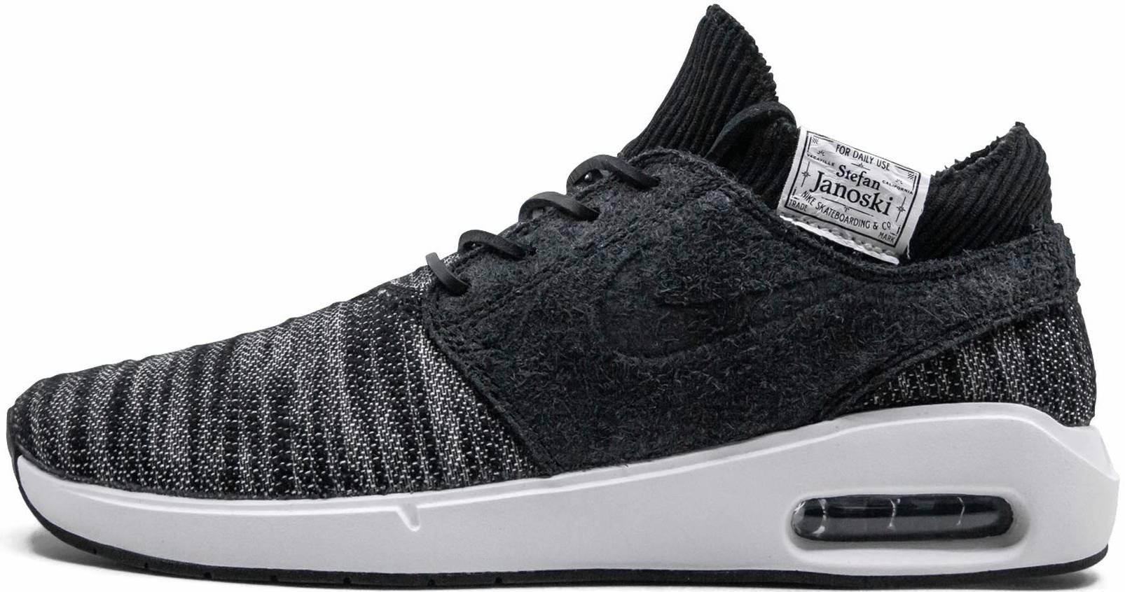 Nike SB Air Max Janoski 2 Premium sneakers in black | RunRepeat