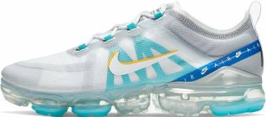 Nike Air Vapormax 2019 SE - White / Wolf Grey-university Gold