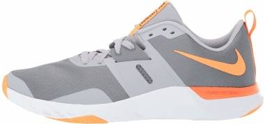 Nike Renew Retaliation TR - Cool Grey Wolf Grey White Total Orange (AT1238007)