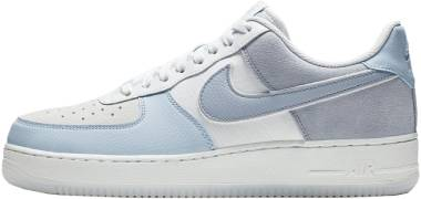 Nike Air Force 1 07 LV8 2 - Light Armory Blue/Obsidian Mist-off White (AO2425400)