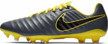Nike Legend 7 Pro Firm Ground - Grau (Dark Grey/Black-opti Yellow 070)