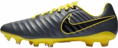 Nike Legend 7 Pro Firm Ground - Grau Dark Grey Black Opti Yellow 070 (AH7241070)