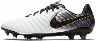 Nike Legend 7 Pro Firm Ground - White/Black/Gold