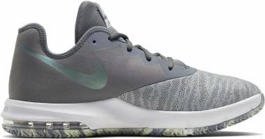 Nike Air Max Infuriate III Low - Cool Grey Dark Grey Platinum T (AJ5898008)