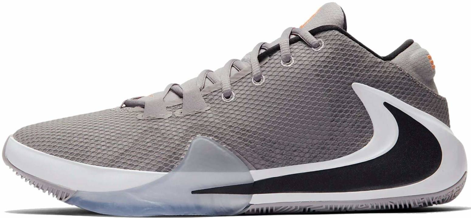 nike basketball shoes gray