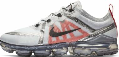 Nike Air VaporMax 2019 - Pure Platinum/Black-white-team Orange
