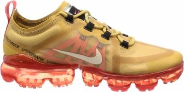 Nike Air VaporMax 2019 - Club Gold/Light Cream (AR6631701)