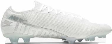 Nike Mercurial Vapor 13 Elite Firm Ground  - Weiß