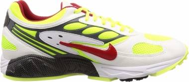 Nike Air Ghost Racer - Multicolour White Atom Red Neon Yellow Dark Grey 100