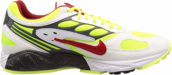 Nike Air Ghost Racer - Multicolour White Atom Red Neon Yellow Dark Grey 100 (AT5410100)