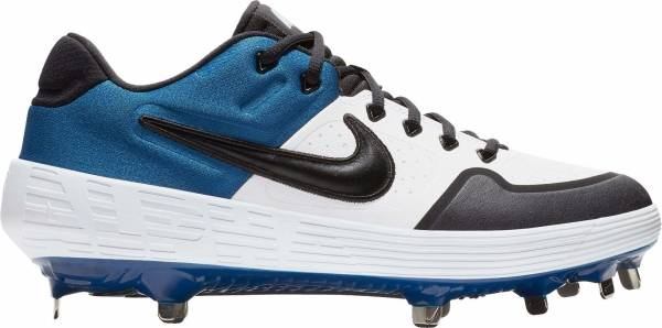 Nike Alpha Huarache Elite 2 Low - White / Black / Blue