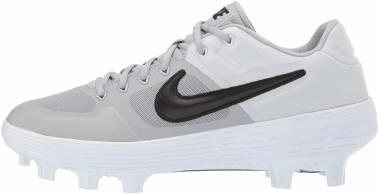 Nike Alpha Huarache Elite 2 Low MCS - Gray