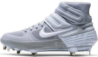 Nike Alpha Huarache Elite 2 Mid - Grey (AJ6874005)
