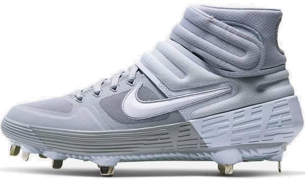Nike Alpha Huarache Elite 2 Mid - Gray (AJ6874005)