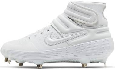 Nike Alpha Huarache Elite 2 Mid - White