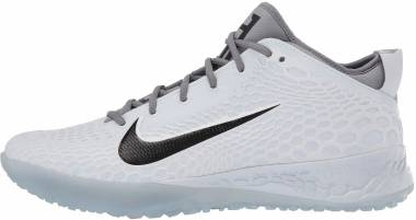 Nike Force Zoom Trout 5 Turf - Gray