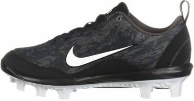 Nike Hyperdiamond 2 Pro MCS - Black/White - Thunder Grey (856493015)