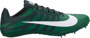 Nike Zoom Rival S 9 - Gorge Green/White-outdoor Green-black