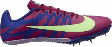 Nike Zoom Rival S 9 - Bordeaux/Lime Blast/Regency Purple (907564602)