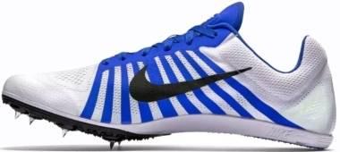 Nike Zoom D - Blanco Negro Azul White Black Racer Blue (819164100)