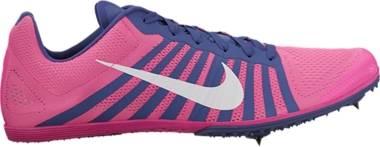 Nike Zoom D - Pink Blast/White-dk Prpl Dust (819164615)