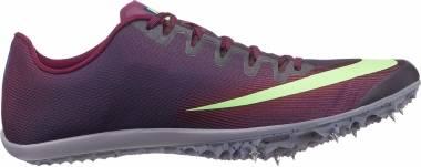 Nike Zoom 400 - Bordeaux Purple, Lime