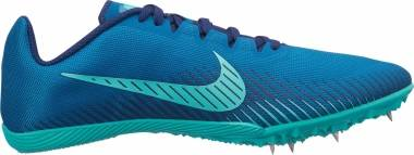 Nike Zoom Rival M 9 - Multicolore (Green Abyss/Hyper Jade/Blue Void 300)