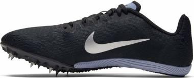 Nike Zoom Rival M 9 - Black / Metallic Silver / Indigo Fog (AH1020004)