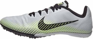 Nike Zoom Rival M 9 - Pure Platinum / Black / Metallic Silver