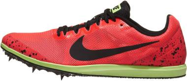 Nike Zoom Rival D 10 - Multicolore (Red Orbit/Black/Lime Blast 663) (907566663)