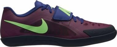 Nike Zoom Rival SD 2 - Mehrfarbig Bordeaux Lime Blast Regency Purple 600 (685134600)