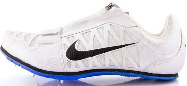 Nike Zoom Long Jump 4 - Blanco / Negro / Azul (White / Black-racer Blue)