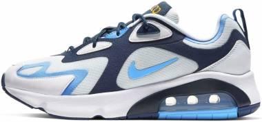Nike Air Max 200 - White University Blue Midnight Navy (CT1262103)