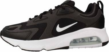 Nike Air Max 200 - Black White Off Noir Metallic Silver (CI3865001)