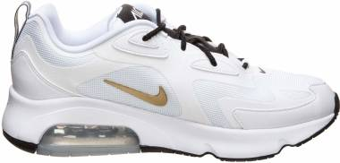 Nike Air Max 200 - White Metallic Gold Black