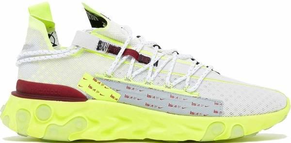 Nike ISPA React - Platinum Tint Team Red Volt Glow