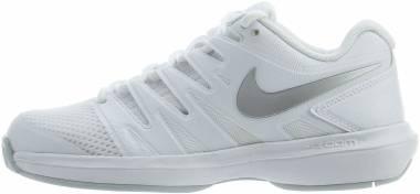 NikeCourt Air Zoom Prestige - Multicolour White Metallic Silver Pure Platinum 119