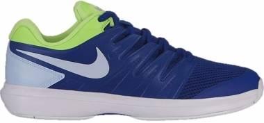 NikeCourt Air Zoom Prestige - Indigo Force/Half Blue/Volt Glow/White