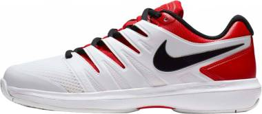 NikeCourt Air Zoom Prestige - Mehrfarbig University Red Black White 000
