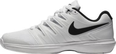 NikeCourt Air Zoom Prestige - Weiß White Black 100