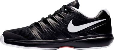 NikeCourt Air Zoom Prestige - Mehrfarbig Black White Bright Crimson 002