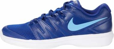 NikeCourt Air Zoom Prestige - Deep Royal Blue/White/Coast (AA8020401)